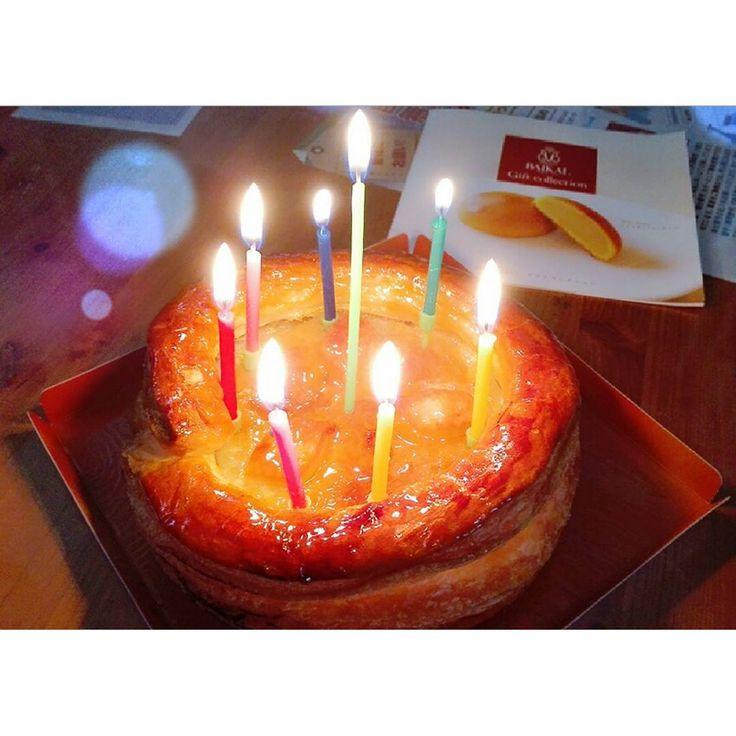 昨日誕生日で焼肉行ったから急遽アップルパイで #cake #Birthday #mybirthday #apple #pie #applepie #baikal #sweet #생일 #케이크 #달콤한 #사과 #파이 #사과파이 #디저트 #디저트그램