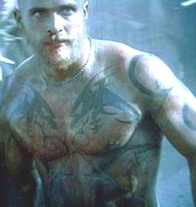 Matthew McConaughey Reign of Fire Tattoos - Ideas And Pictures