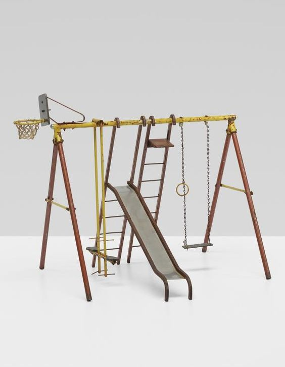 American salesman's sample play set. 1950.