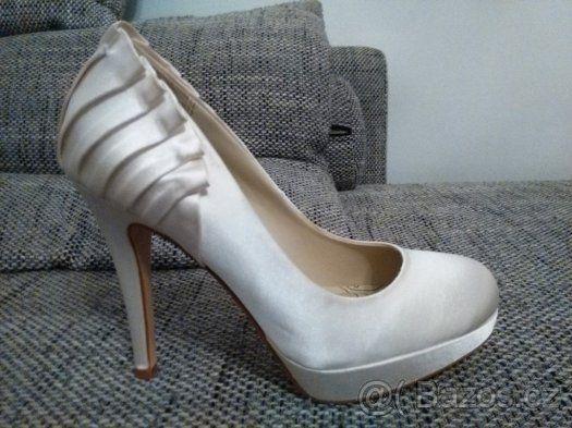 Svatební boty značky NEXT - 1