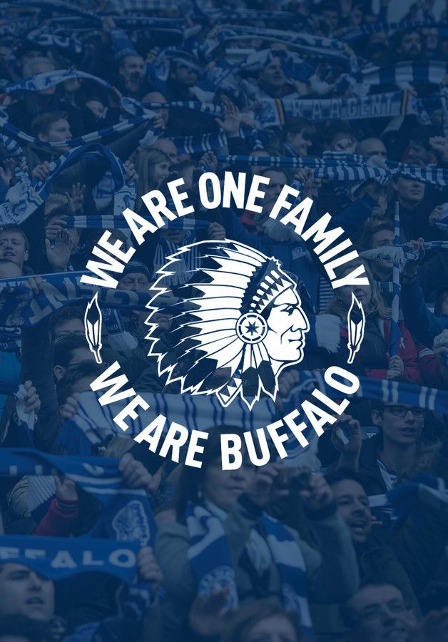 Afbeeldingsresultaat voor we are one family we are buffalo