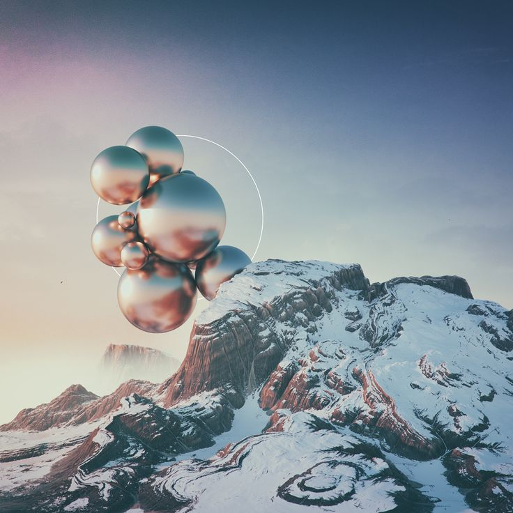 Filip Hodas - 'Daily Renders' - Wonderful work! A very nice blend between abstract and naturalistic elements.