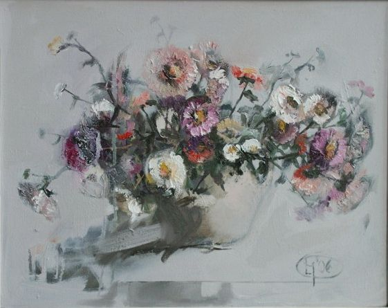 Title: Flori X / Style: Acrylic on Canvas