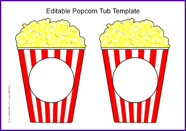 Printable Popcorn Box Template 28 Of Printable Popcorn Words Template Ocftby Inspirational637450 Popcorn Tub Popcorn Box Template Box Template