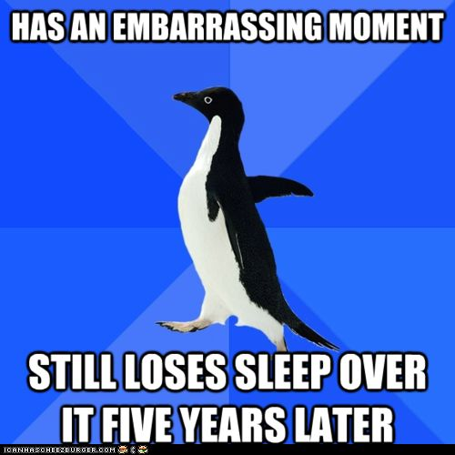 Advice Animals Memes - Socially Awkward Penguin - Five Years Later