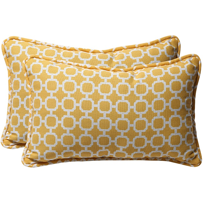 geometric patterned outdoor cushion - i know you like this @katewood