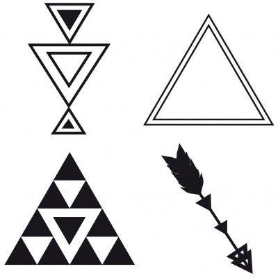 1000 id es propos de tatouages triangle sur pinterest. Black Bedroom Furniture Sets. Home Design Ideas