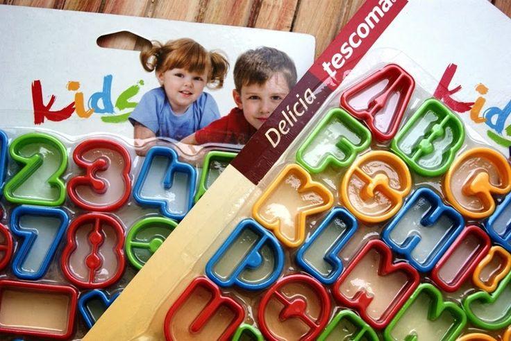 Test foremek dla dzieci na Wielki apetyt:) Produkt dostępny jest w http://mykitchen.pl/Foremki-do-ciastek-alfabet-Delicia-Kids-Tescoma-34szt.  #kuchnia #homedecor