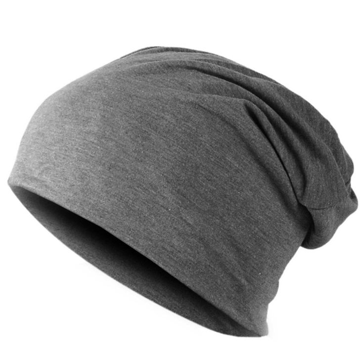 Spring Fashion Men Knitted Winter Cap,Casual Beanies for Men Solid Color Hip-hop