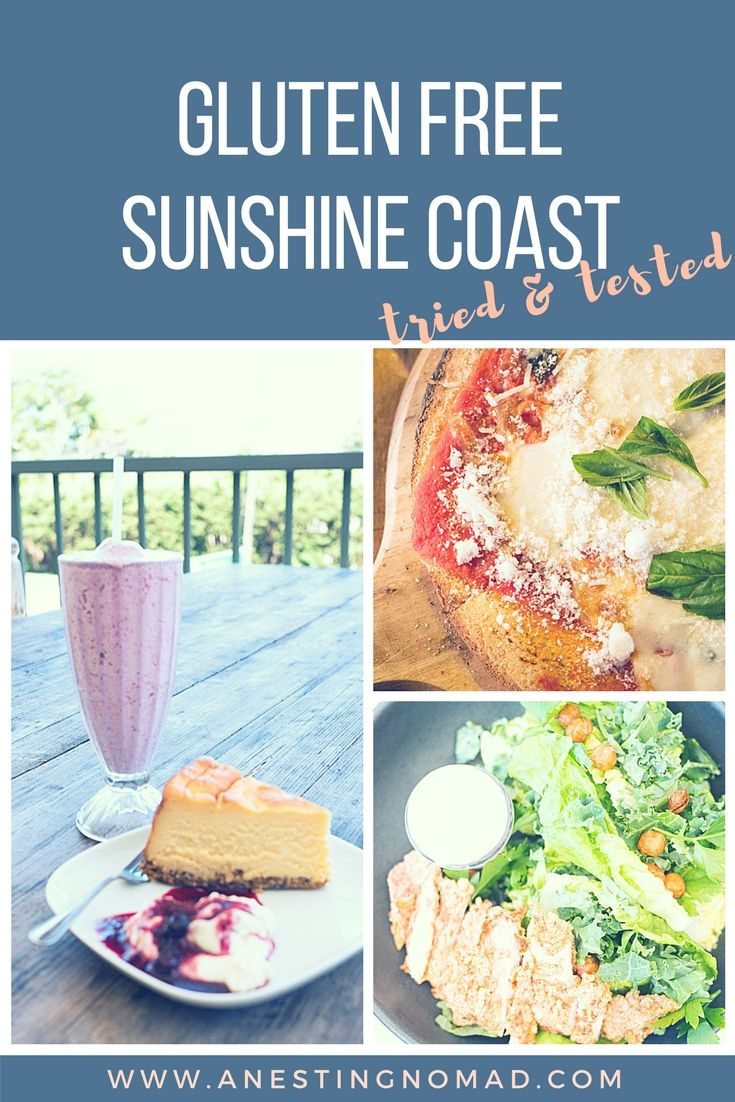 Are you heading to the Sunshine Coast and need to eat gluten free? I've got some good suggestions to start you off. Including the ever classic Aussie Meat Pie! More on www.anestingnomad.com