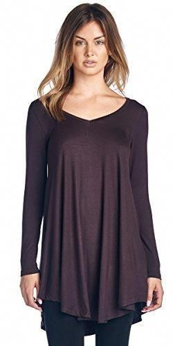 35805ca0f52 - Tunic tops for women to wear with leggings in plus size and regular sizes  - Long Tunic Top Can Also be Worn A… | tunics and leggings for women Casual  ...