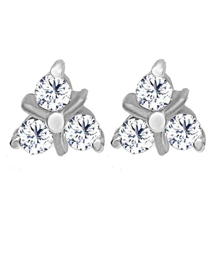 Jacknjewel 0.12 Carat Diamond Leery Platinum Stud Earrings, http://www.snapdeal.com/product/jacknjewel-012-carat-diamond-leery/1436783665