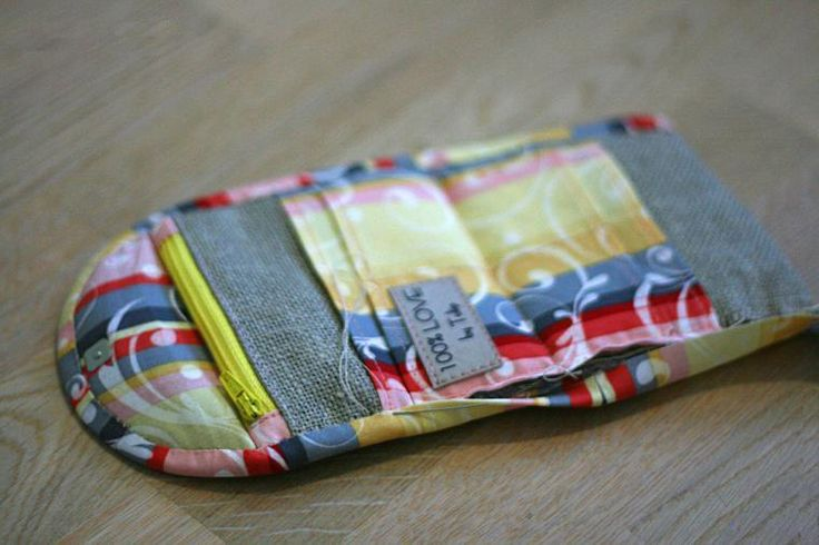 Coin Purse Pouch. Free pattern, quick and easy to sew. Photo Tutorial