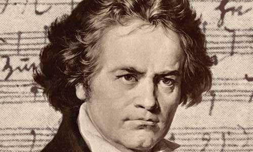 """""""Famoso alrededor de todo el mundo, director de orquesta, músico, compositor y pianista de origen alemán es el más importante músico de historia, su legado musical se origina desde los comienzos del periodo barroco siendo uno de los pioneros del romanticismo."""" Beethovennació el16 de diciembre"""