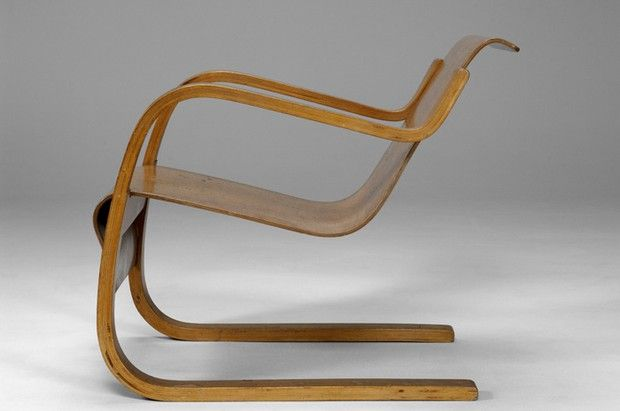 Large image of Alvar Aalto Chair No.42