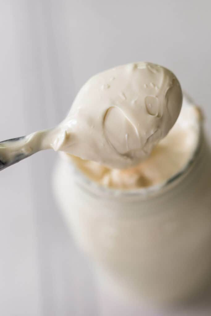 How To Make Sour Cream From Raw Milk Recipe Homemade Sour Cream Make Sour Cream Sour Cream