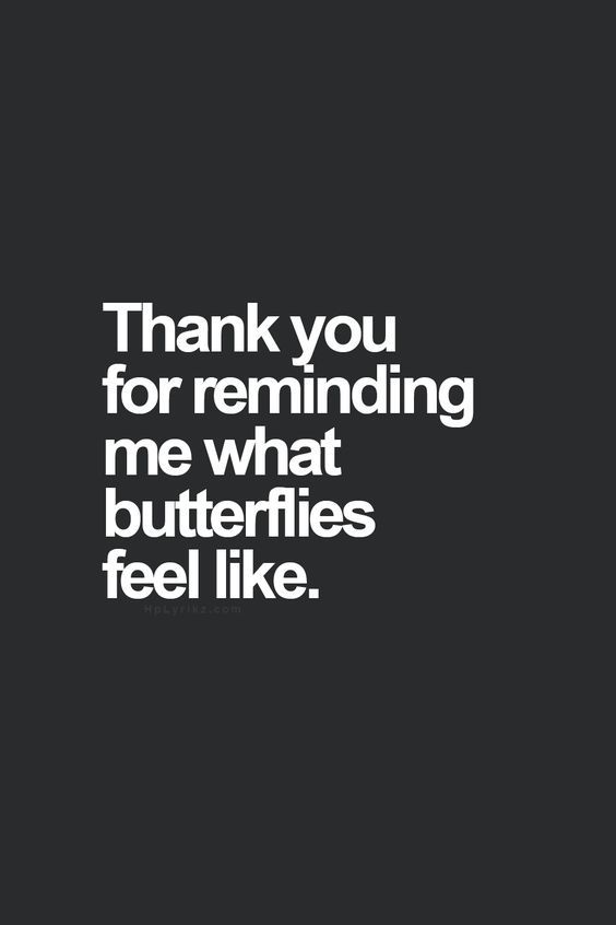 butterflies | having a crush | love quotes | sweet quotes | sweet relationship quotes