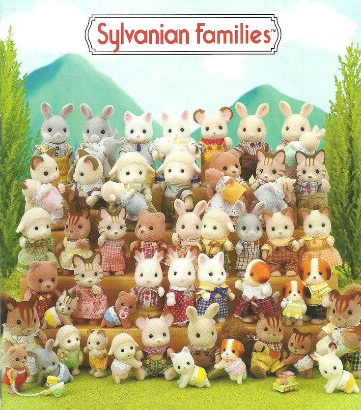 sylvanian families on Pinterest | Sylvanian Families, Rainbow ...