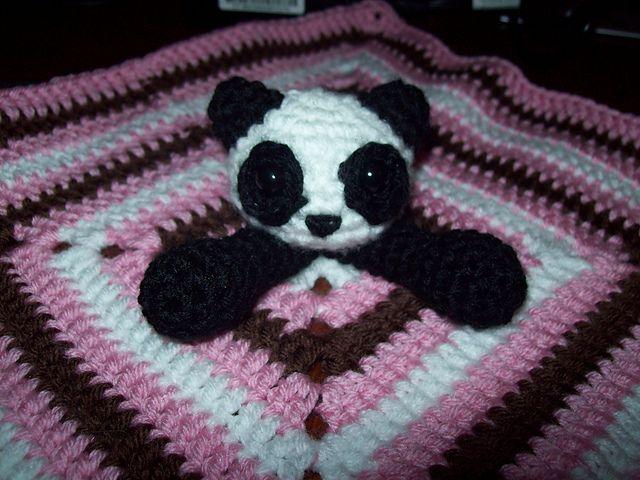 Panda Bear Lovey ~ free pattern