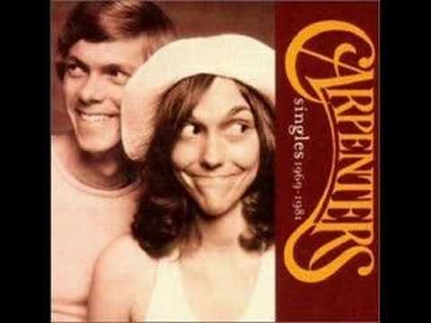 70's music! One of my favorite songs by the late Karen Carpenter