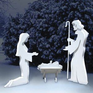Nativity Scene Woodworking Plans - WoodWorking Projects ...