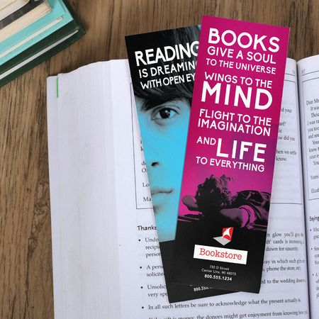 Bookmark Printing Online - Custom Bookmarks - UPrinting.com  $39 for 1,000 not too bad!
