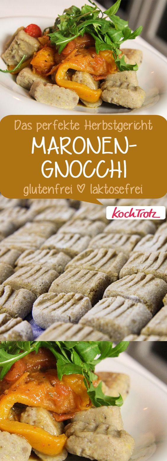 Aromatische Maronen-Gnocchi | ein tolles Herbst-Gruppenboard und Wintergericht  | laktosefrei | glutenfrei