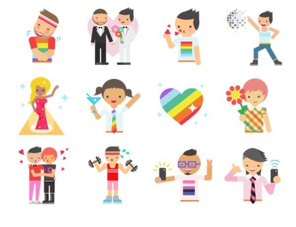 Facebook Messenger agora tem novos stickers para celebrar o orgulho gay - Blue Bus