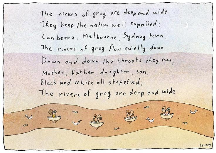 Cartoon by Michael Leunig