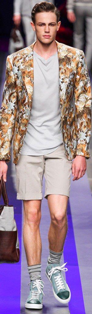 Canali Menswear Spring-Summer