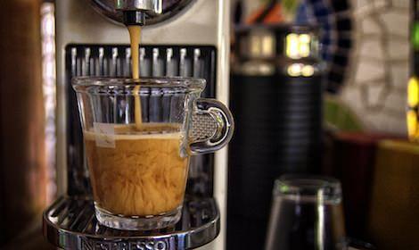 The Nespresso machine churns out barrista level espresso, latte, latte macchiato, americano, cappuccino - you name it.