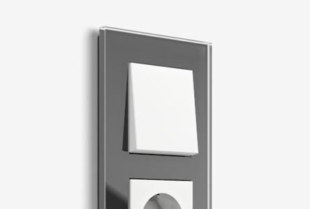 Switch ranges from Gira: more than 50 frame variants and numerous inserts in different colours and materials are available.