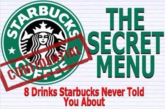 STARBUCKS SECRET MENU Regular Prices May Vary On These Special Secret Drinks. http://t.trusper.com/STARBUCKS-SECRET-MENU-Regular-Prices-May-Vary-On-These-Special-Secret-Drinks/473014