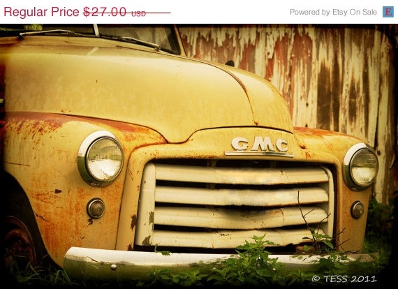 Photography – Old Jimmy – Classic GMC Truck Photo – Old Truck Photo – Vintage Truck – Photography Prints