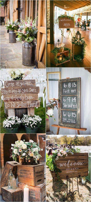 20 Gorgeous Ideas For A Rustic Barn Wedding Wedding Inspiration