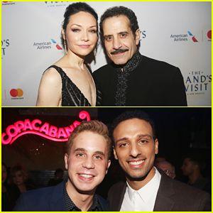 Tony Shalhoub & Katrina Lenk Celebrate 'The Band's Visit' Broadway Opening Night!