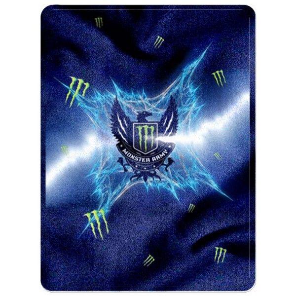 """Monster Energy New Blanket 58"""" x 80""""  (Large) code 1104"""