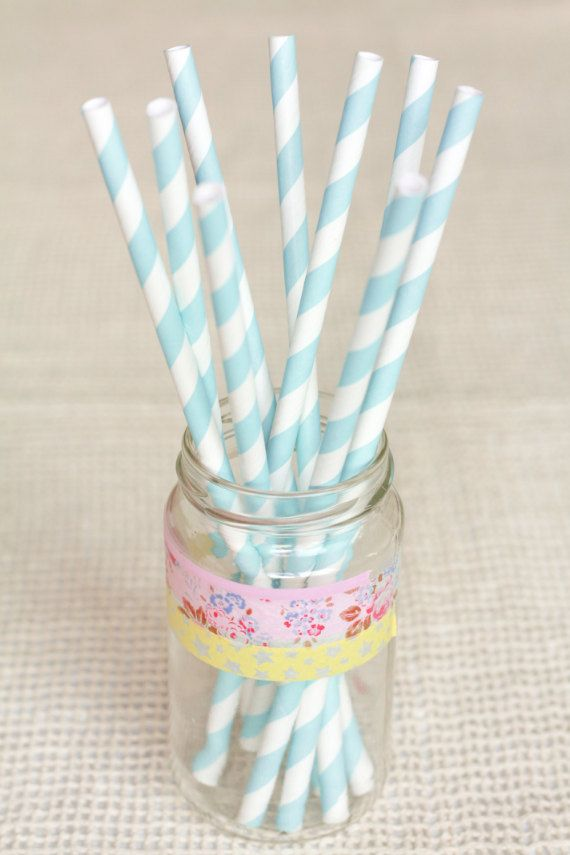 Inspiration #Zgeneration15 Light blue and White Striped