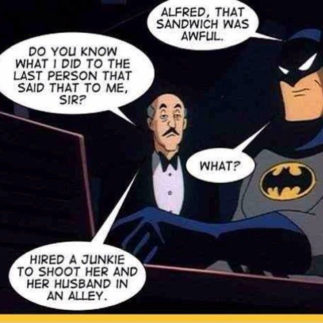 Alfred, that was cold af - visit to grab an unforgettable cool 3D Super Hero T-Shirt! JESUS CHRIST ALFRED