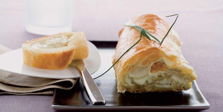 Strudel al gorgonzola ricetta
