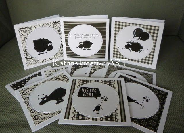 Katrins kreative ART, Katrins kreative Werke, Katrins Bastelarbeiten, Katrins Bird Crazy Tim Holtz, Katrins Karten Projekte Alben Boxen Grußkarten