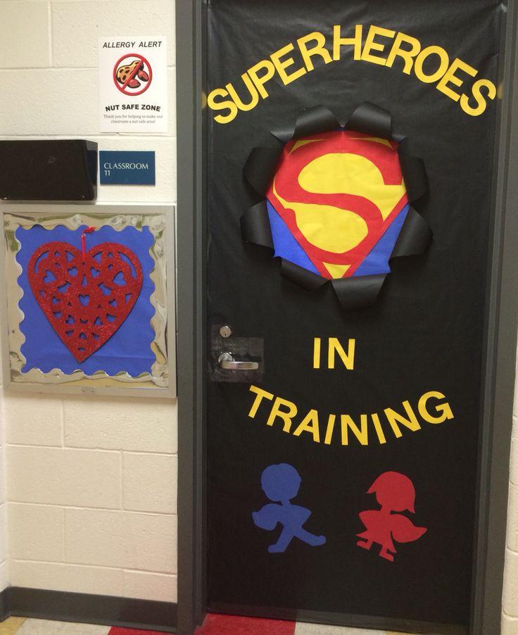 Preschool Superhero Door