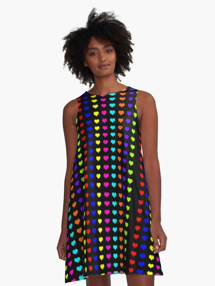 20% OFFsitewide. Use code FIRSTPLACE20. Colorful Neon  Hearts pattern Dress by Scar Design. #valentinesdaygifts #valentines #valentinesday #alinedress #sale #sales #deals #discount #dress #colorful #kids #heart #life #love #living #style #redbubble #teen #womensfashion #fashion #love #online #shopping #style #awesome #cool #family #popular #art #design #popart #gifts #giftsforher #fashiongifts  #39 #giftideas
