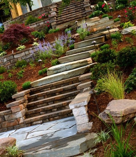 Landscape Hillside Design, Pictures, Remodel, Decor and Ideas - page 65