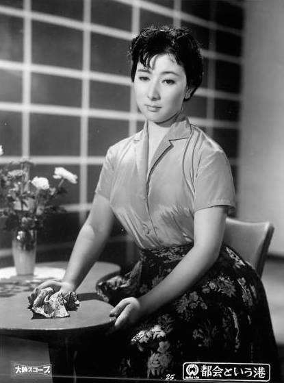 『都会という港』山本富士子主演 1958年公開 大映。