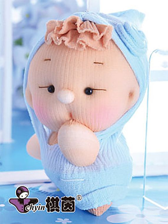 Sweet Boy Candy Babies Stuffed Toy Kit by ClassyThreadsKits, $12.00