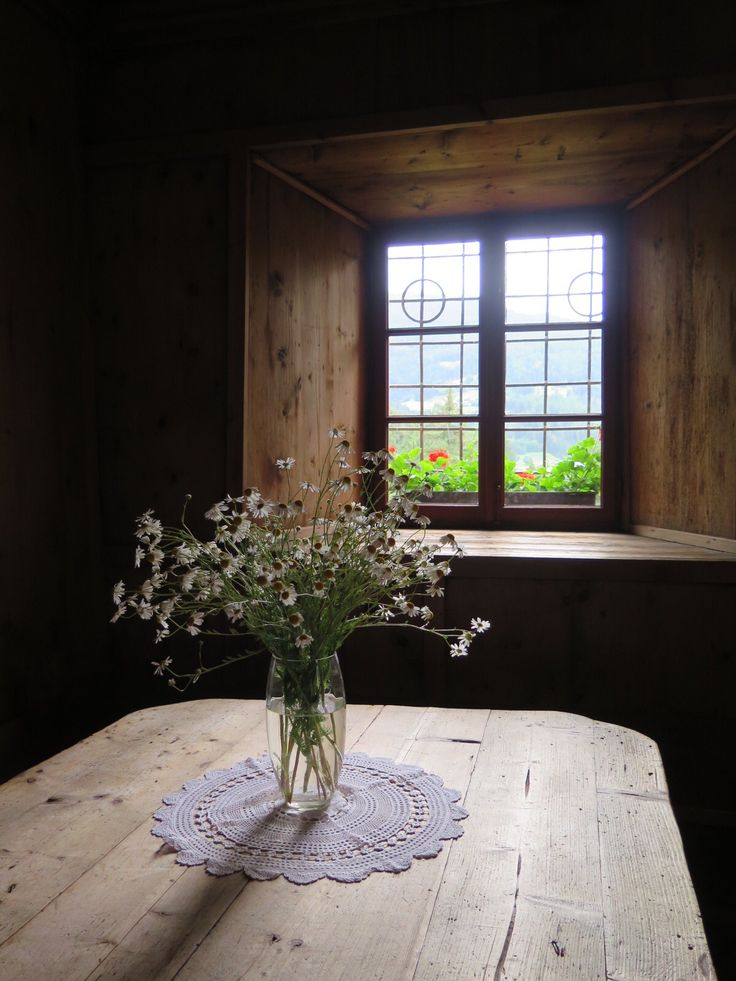 Monguelfo, Alto Adige, stube, fiori, fowers