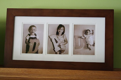 For What It's Worth...or Not.: Home Decor/  Really cute idea for father's day pictures of kids