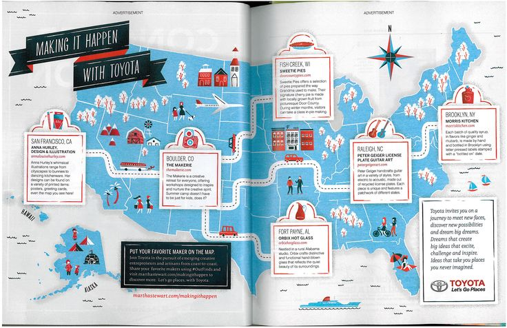 Infographic/map idea