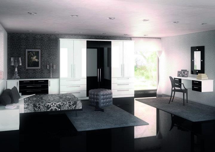 Die besten 25+ White gloss wardrobes Ideen auf Pinterest - luxus schlafzimmer design